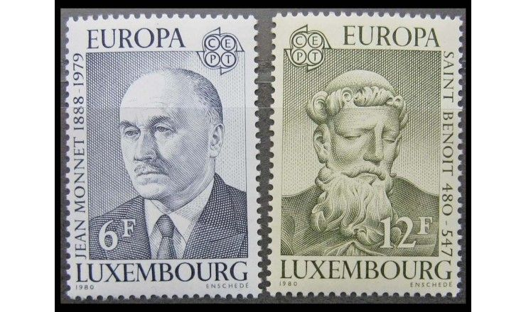 "Люксембург 1980 г. ""Европа: Персоналии"""