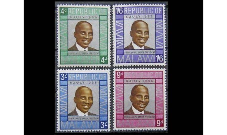 """Малави 1966 г. """"День республики"""""""