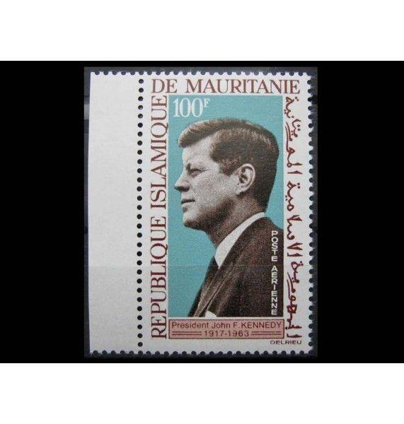 """Мавритания 1964 г. """"Годовщина смерти Джона Кеннеди"""""""
