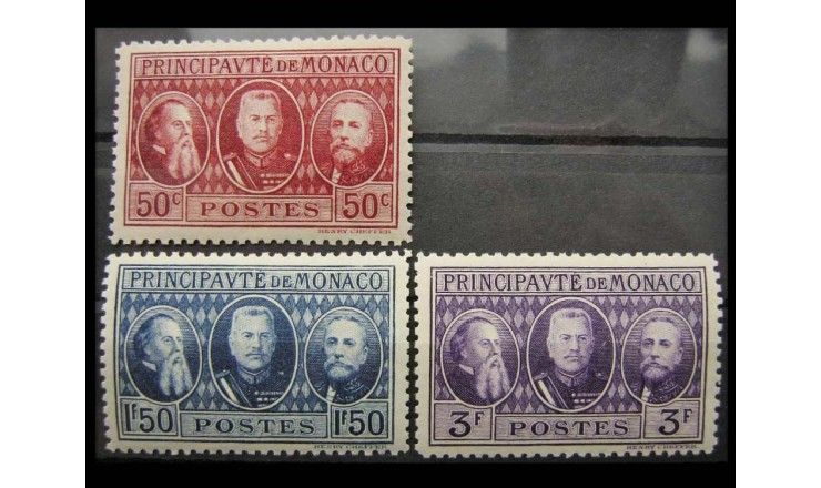 "Монако 1928 г. ""Международная выставка марок, Монте-Карло"""