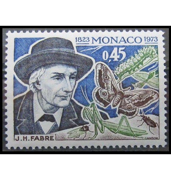 """Монако 1973 г. """"Жан Анри Фабр"""""""