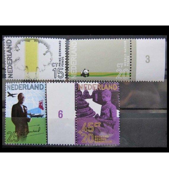 """Нидерланды 1971 г. """"60-летие Принца Бернарда"""""""
