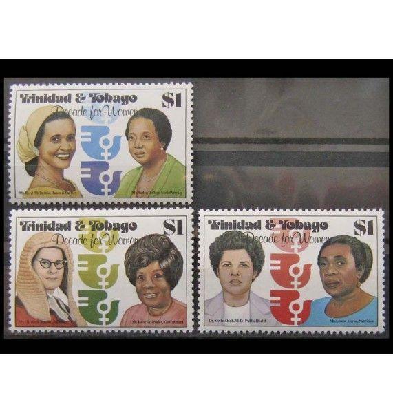 """Тринидад и Тобаго 1980 г. """"10-летие ООН-Женщины"""""""