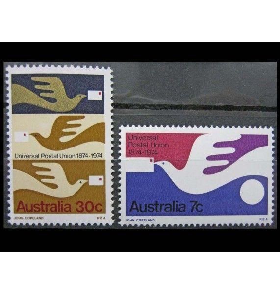 "Австралия 1974 г. ""100-летие UPU"""