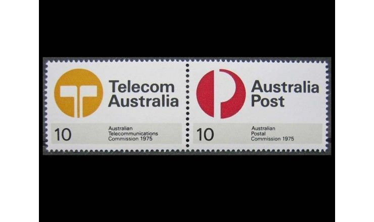 "Австралия 1975 г. ""Комиссия по почте и телекоммуникациям"""