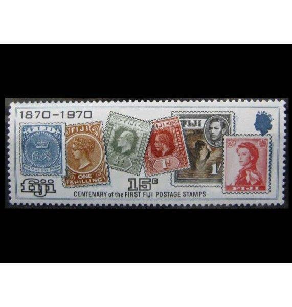 """Фиджи 1970 г. """"100 лет почтовой марке Фиджи"""""""