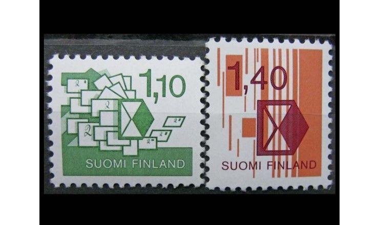 "Финляндия 1984 г. ""Почта"""