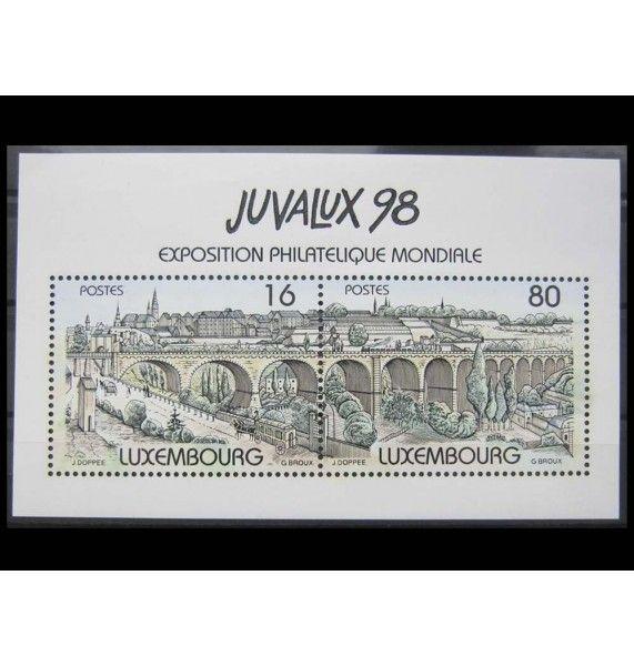 """Люксембург 1998 г. """"Международная выставка JUVALUX"""""""