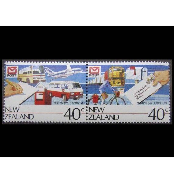 """Новая Зеландия 1987 г. """"Открытие нового почтового отделения"""""""