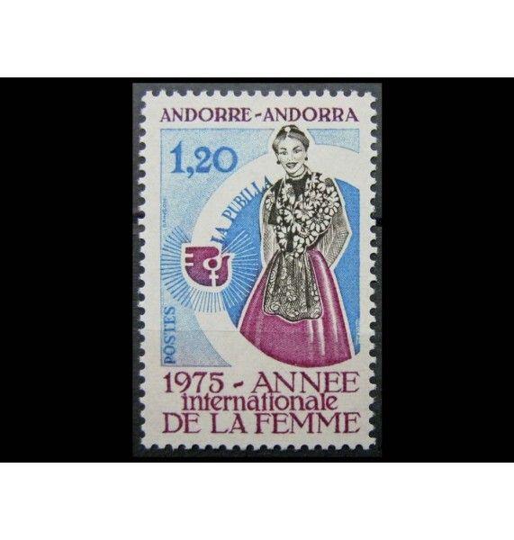 "Андорра (французская) 1975 г. ""Международный год женщины"""
