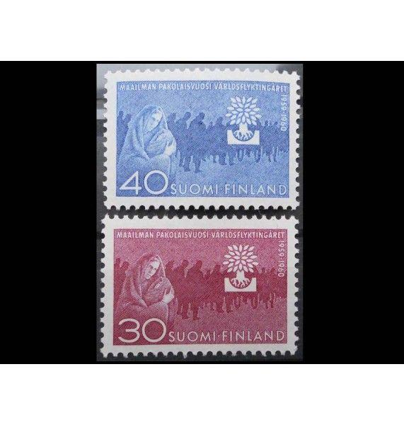 "Финляндия 1960 г. ""Международный год беженцев"""