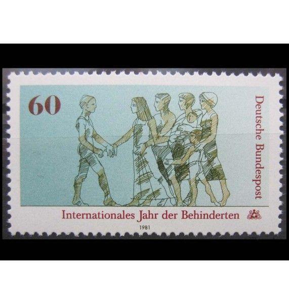 """ФРГ 1981 г. """"Международный год инвалидов"""""""