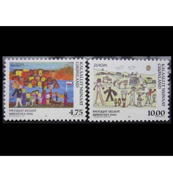 """Гренландия 1998 г. """"Европа: Национальные фестивали и праздники"""""""
