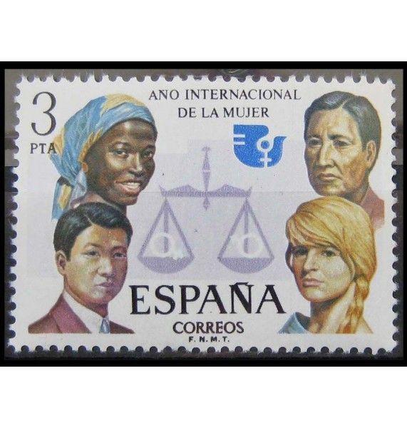 """Испания 1975 г. """"Международный год женщин"""""""