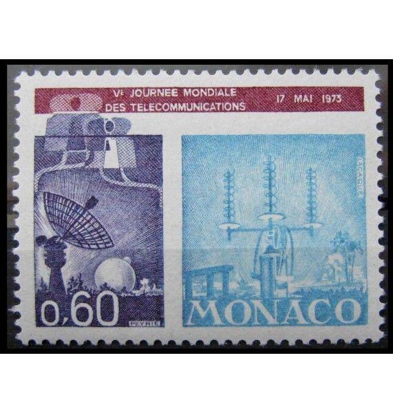 """Монако 1973 г. """"Всемирный день электросвязи"""""""
