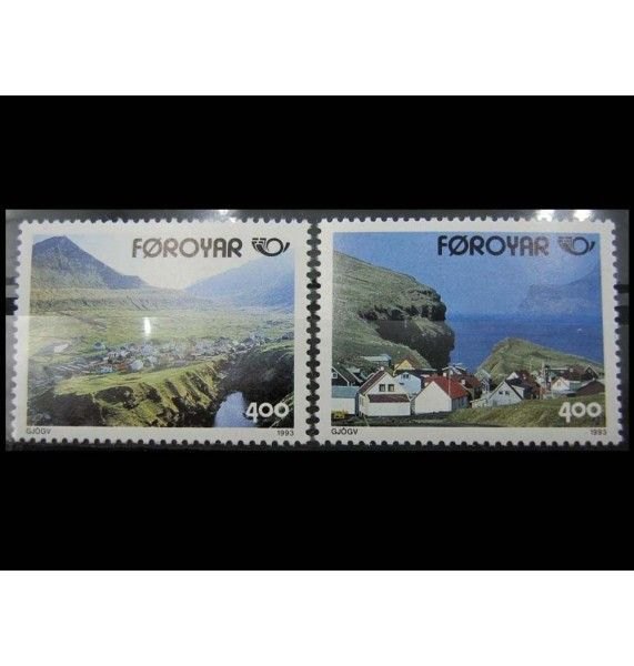 "Фарерские острова 1993 г. ""Север: Туризм"""