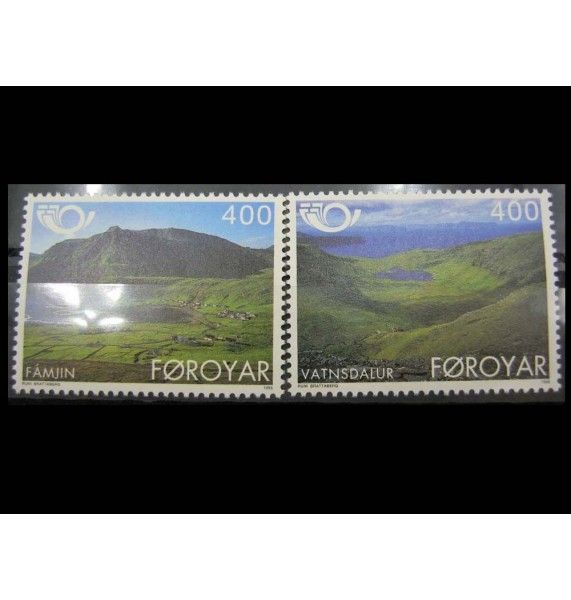 "Фарерские острова 1995 г. ""Север: Туризм"""