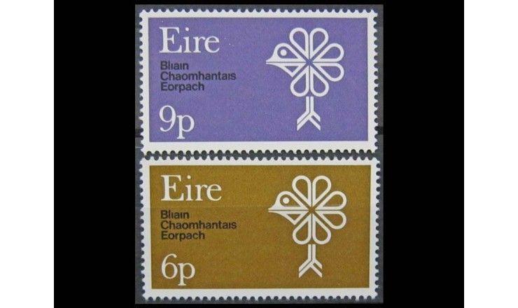 """Ирландия 1970 г. """"Европейский год охраны природы"""""""