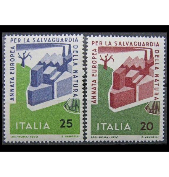 """Италия 1970 г. """"Европейский год охраны природы"""""""