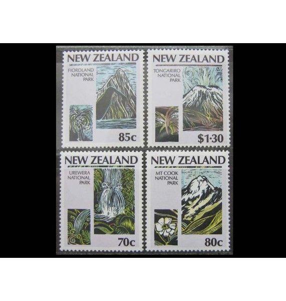 """Новая Зеландия 1987 г. """"Национальные парки"""""""