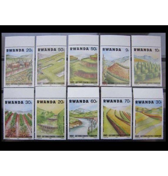 "Руанда 1983 г. ""Борьба с эрозией почвы"""
