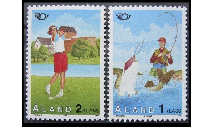 """Аландские острова 1995 г. """"Север: Туризм"""""""