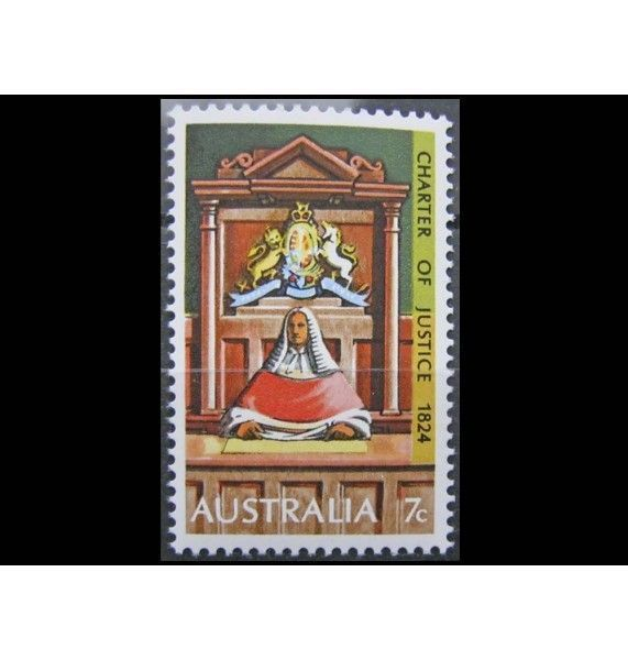 """Австралия 1974 г. """"150-летие Хартии Нового Южного Уэльса"""""""