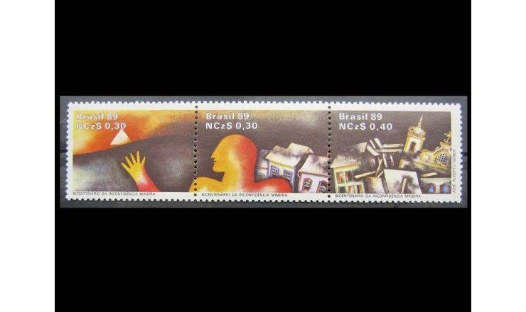 """Бразилия 1989 г. """"200 лет кампании за независимость Португалии"""""""