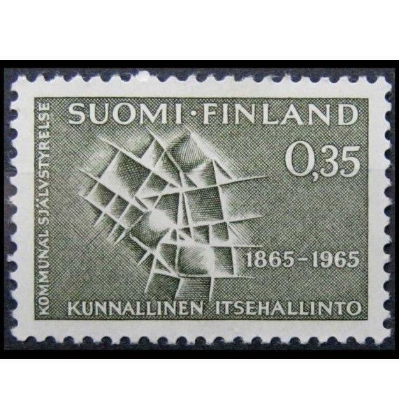 """Финляндия 1965 г. """"100 лет коммунальному самоуправлению"""""""
