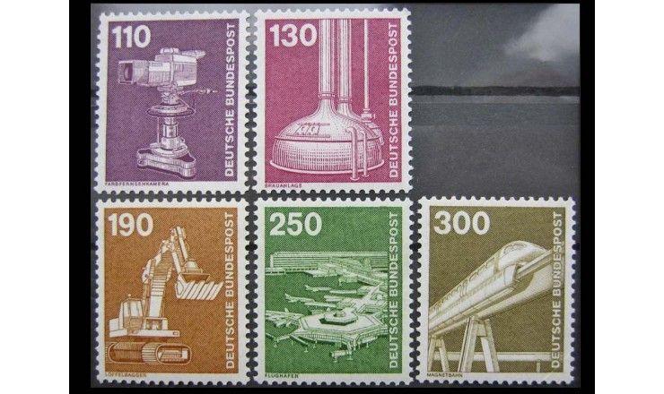 """ФРГ 1982 г. """"Промышленность и технологии"""""""
