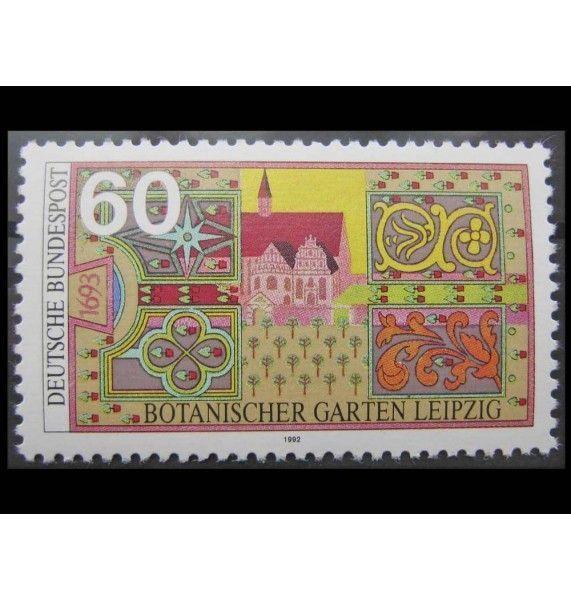"""ФРГ 1992 г. """"Лейпцигский ботанический сад"""""""