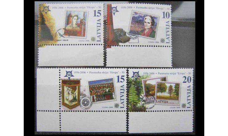"Латвия 2006 г. ""50-летие марки «Европа»"""