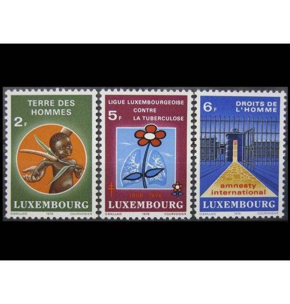 """Люксембург 1978 г. """"Солидарность"""""""