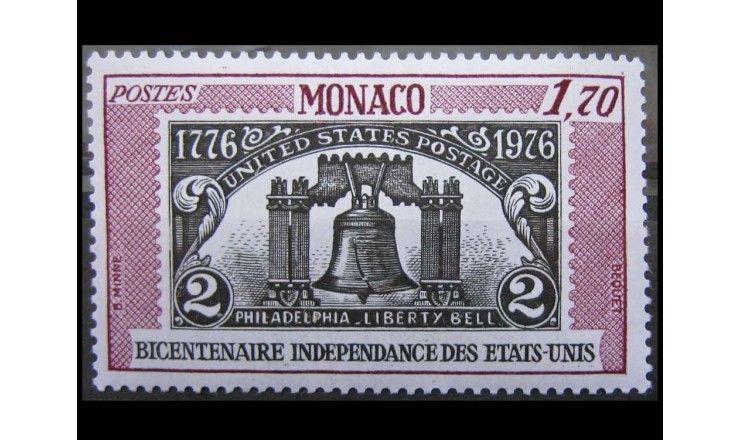 """Монако 1976 г. """"200-летие независимости США"""""""