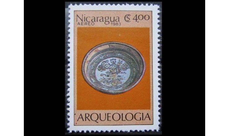"""Никарагуа 1983 г. """"Археология"""""""