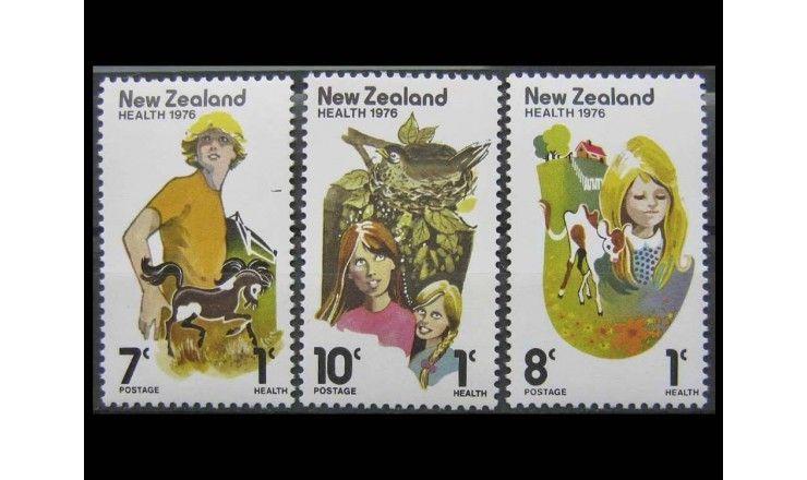 """Новая Зеландия 1976 г. """"Здоровье"""""""