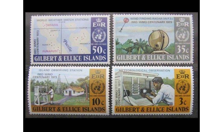 """Острова Гилберта и Эллис 1973 г. """"Метеорология"""""""