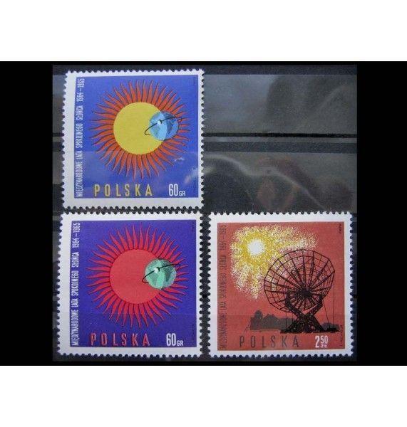 """Польша 1965 г. """"Международный год спокойного солнца"""""""