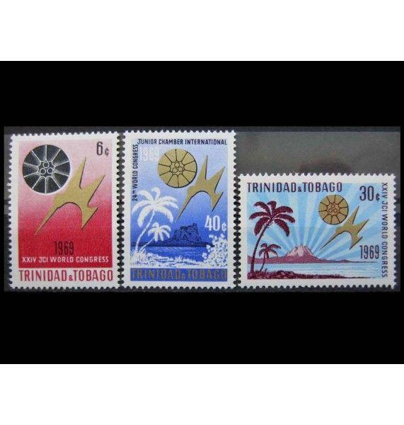 """Тринидад и Тобаго 1969 г. """"Международная Молодёжная Палата"""""""