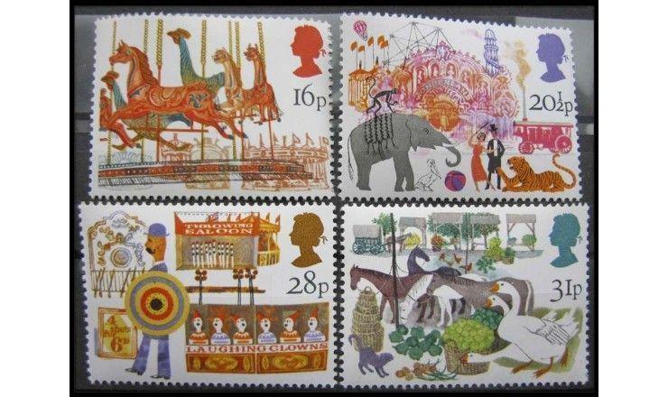 """Великобритания 1983 г. """"850 лет рынку Смитфилд, Лондон"""""""