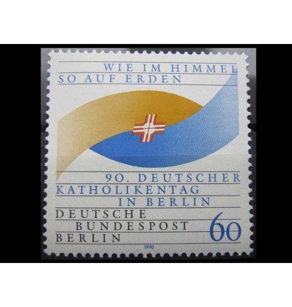 """Западный Берлин 1990 г. """"Немецкий католический день"""""""
