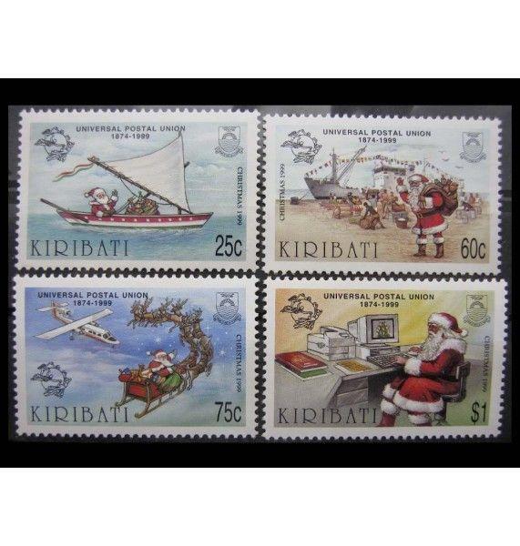 "Кирибати 1999 г. ""125 лет ВПС; Рождество"""