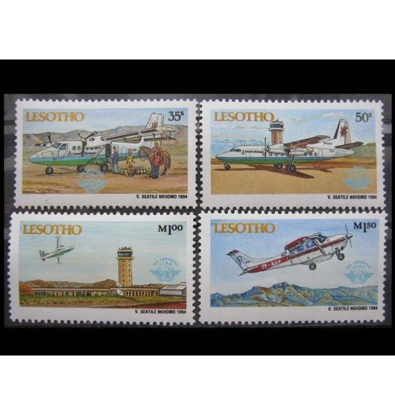 """Лесото 1994 г. """"Межд. Организация гражданской авиации"""""""