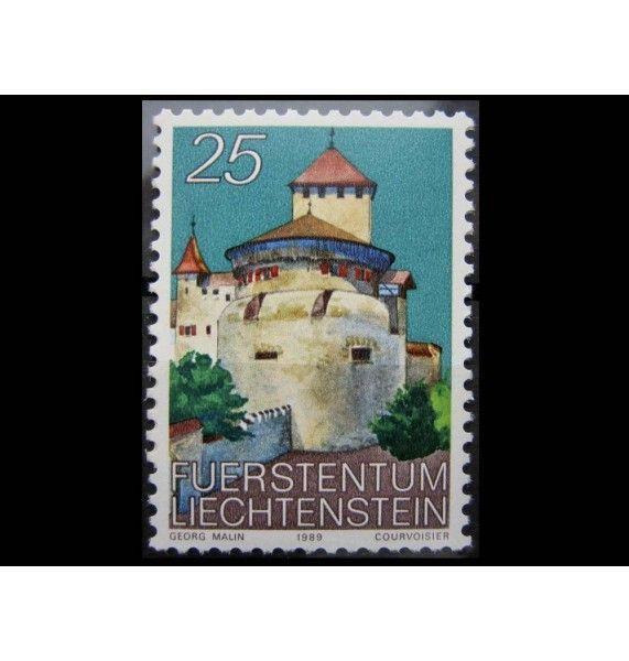 """Лихтенштейн 1989 г. """"Замок Вадуц"""""""
