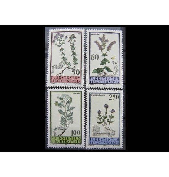"""Лихтенштейн 1993 г. """"Низкорослые цветы"""""""