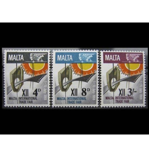 """Мальта 1968 г. """"Международная торговая ярмарка, Нашар"""""""