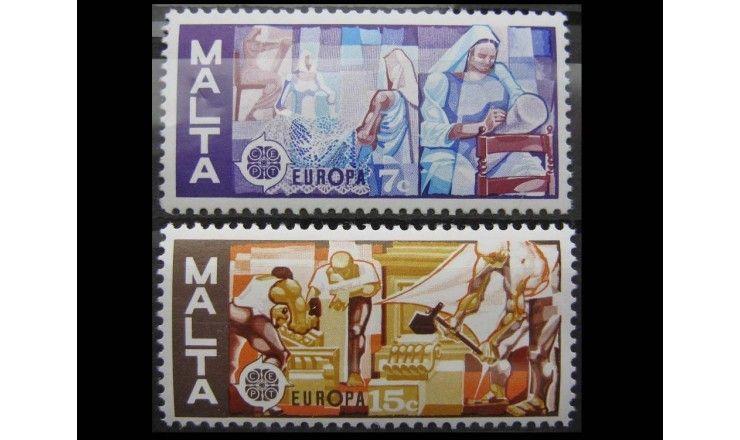 """Мальта 1976 г. """"Европа: Художественный промысел"""""""