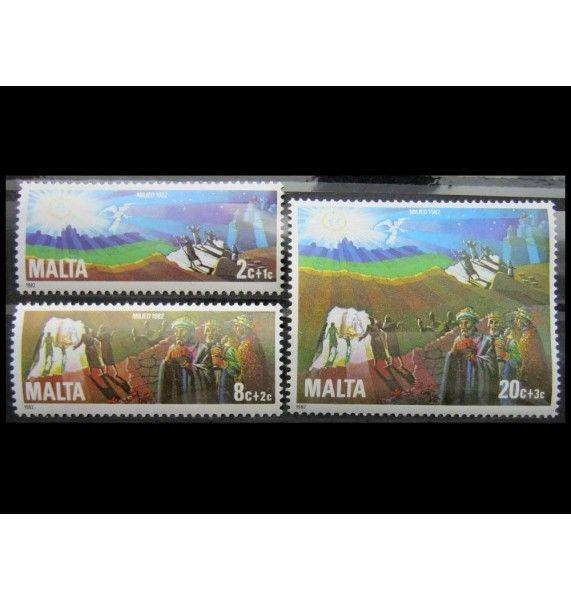 """Мальта 1982 г. """"Рождество"""""""