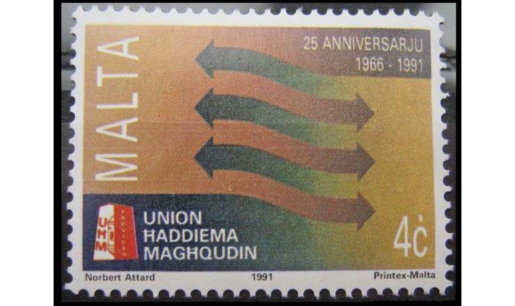 """Мальта 1991 г. """"25 лет Союзу Хаддиема Магхкудин"""""""