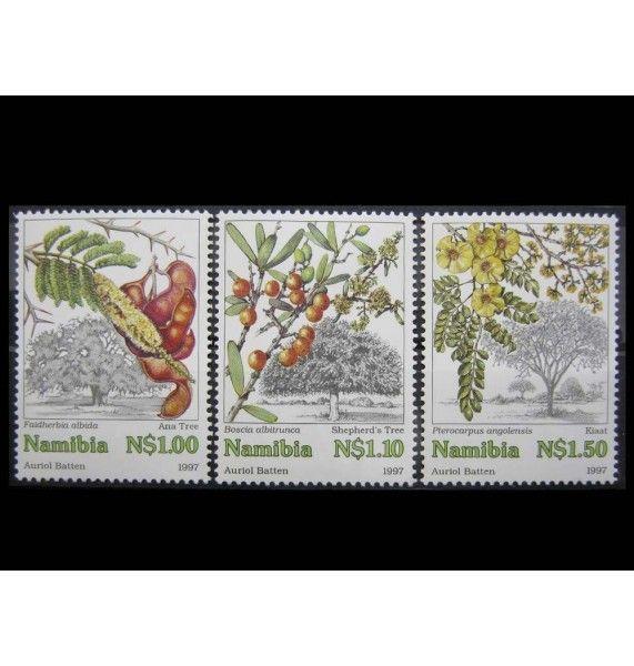 """Намибия 1997 г. """"Деревья"""""""